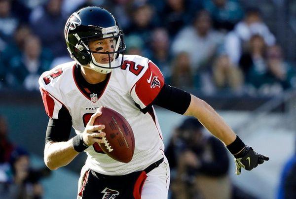 Quarterback Matt Ryan could become the Falcons' first