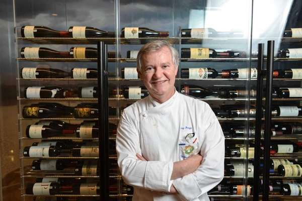 Guy Reuge, executive chef at Mirabelle in Stony