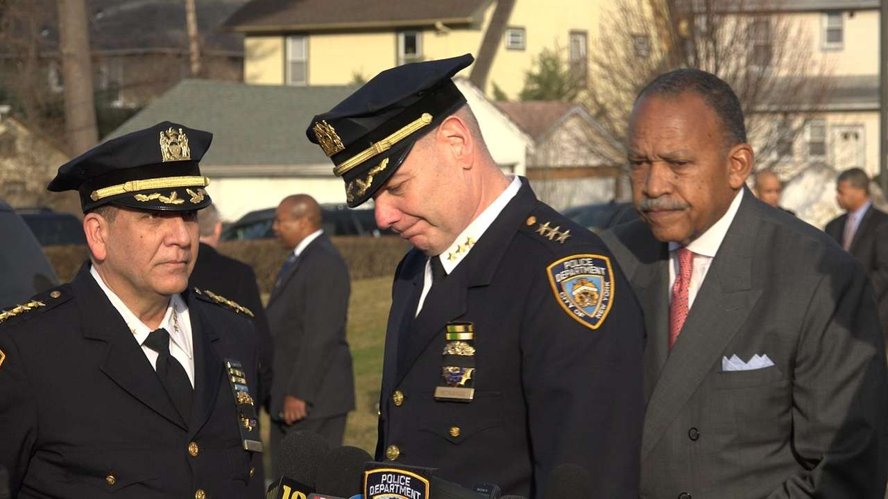 Civilian and law enforcement mourners gathered on Wednesday,