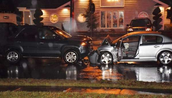 AMedford driver experienced a medical event, crashing her