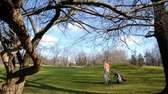 The golf course at Christoper Morley Park in
