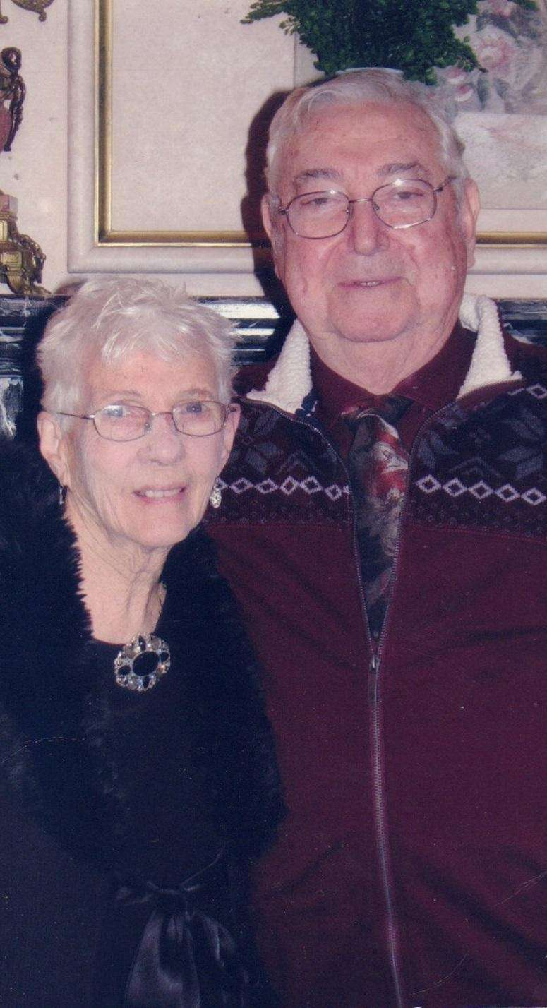 Marilyn and Ray Walther of Bethpage met through