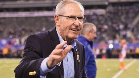 Former New York Giants coach Tom Coughlin has