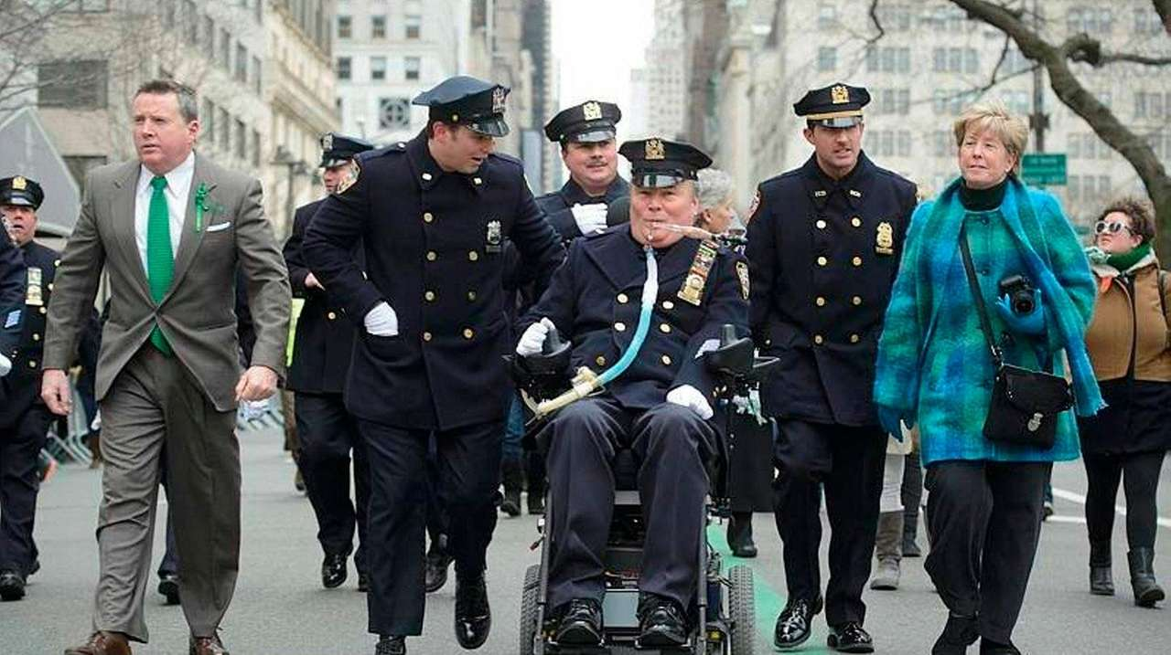 Steven McDonald, a former member of the NYPD
