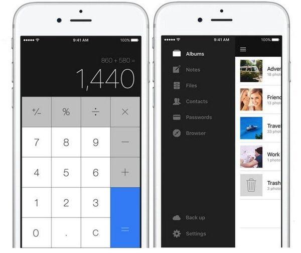 Secret Calculator + is a secret vault app