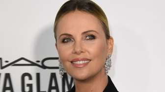 Honoree Charlize Theron arrives for amfAR's Inspiration Gala