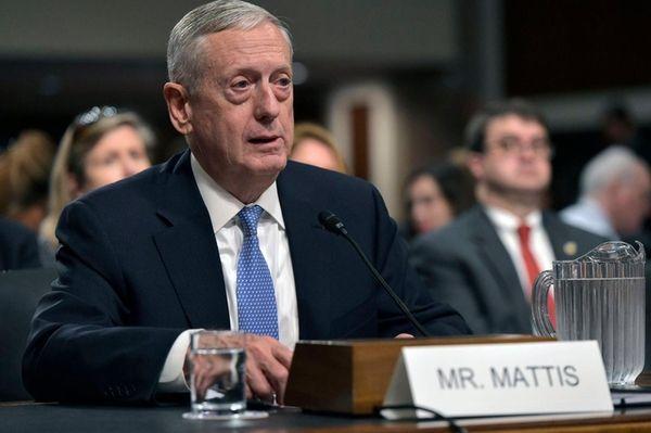 Donald Trump's nominee for secretary of defense, James