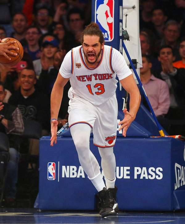Joakim Noah #13 of the New York Knicks