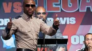 Retired boxer and boxing promoter Floyd Mayweather Jr.,