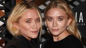 Former child actresses and twins Mary-Kate and Ashley