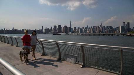 Brooklyn's Greenpoint neighborhood boasts waterfront views of Manhattan,
