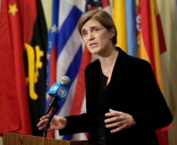 U.S. Ambassador to the United Nations Samantha Power