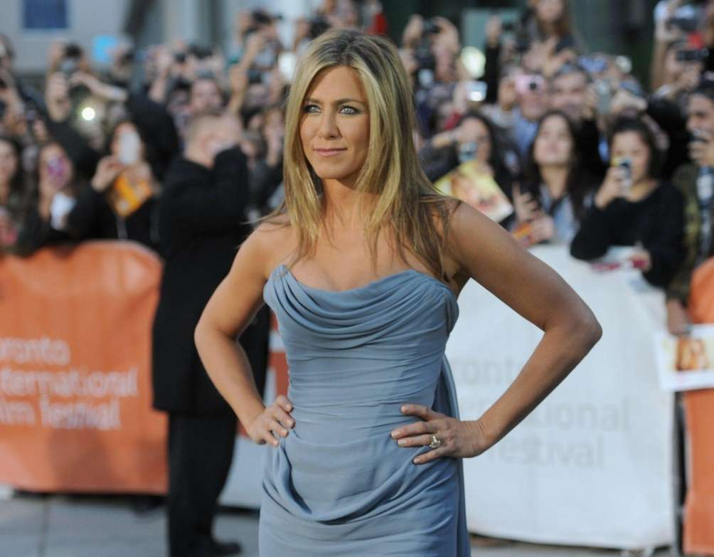 Actress/producer Jennifer Aniston arrives at the