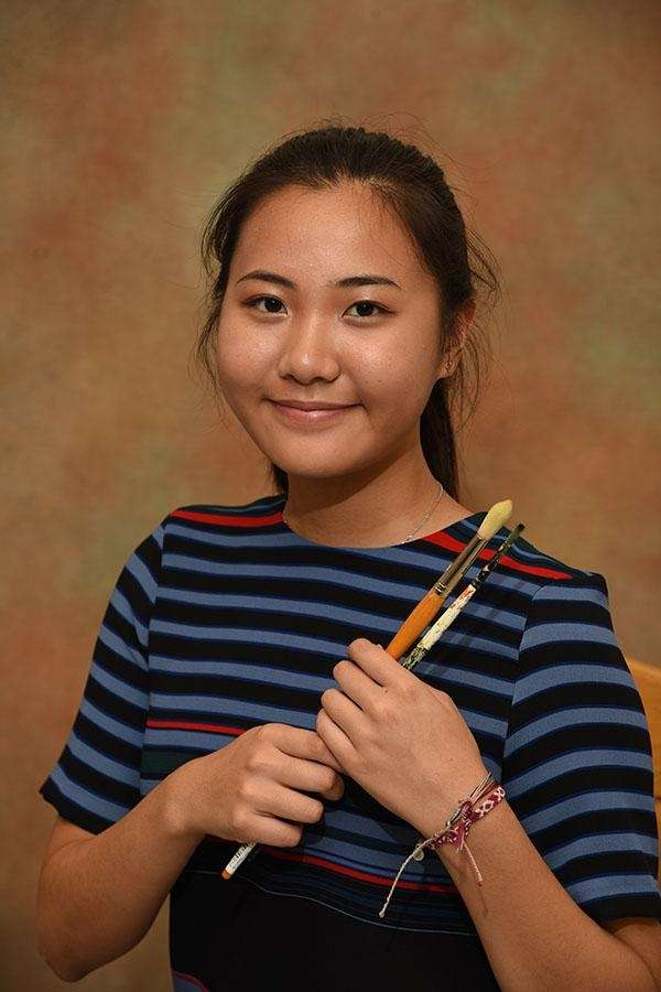 January's Long Island Scholar Artist, Ellie Lee of
