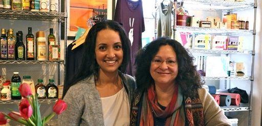 Laura Mayo and Paula DiDonato at the Giving