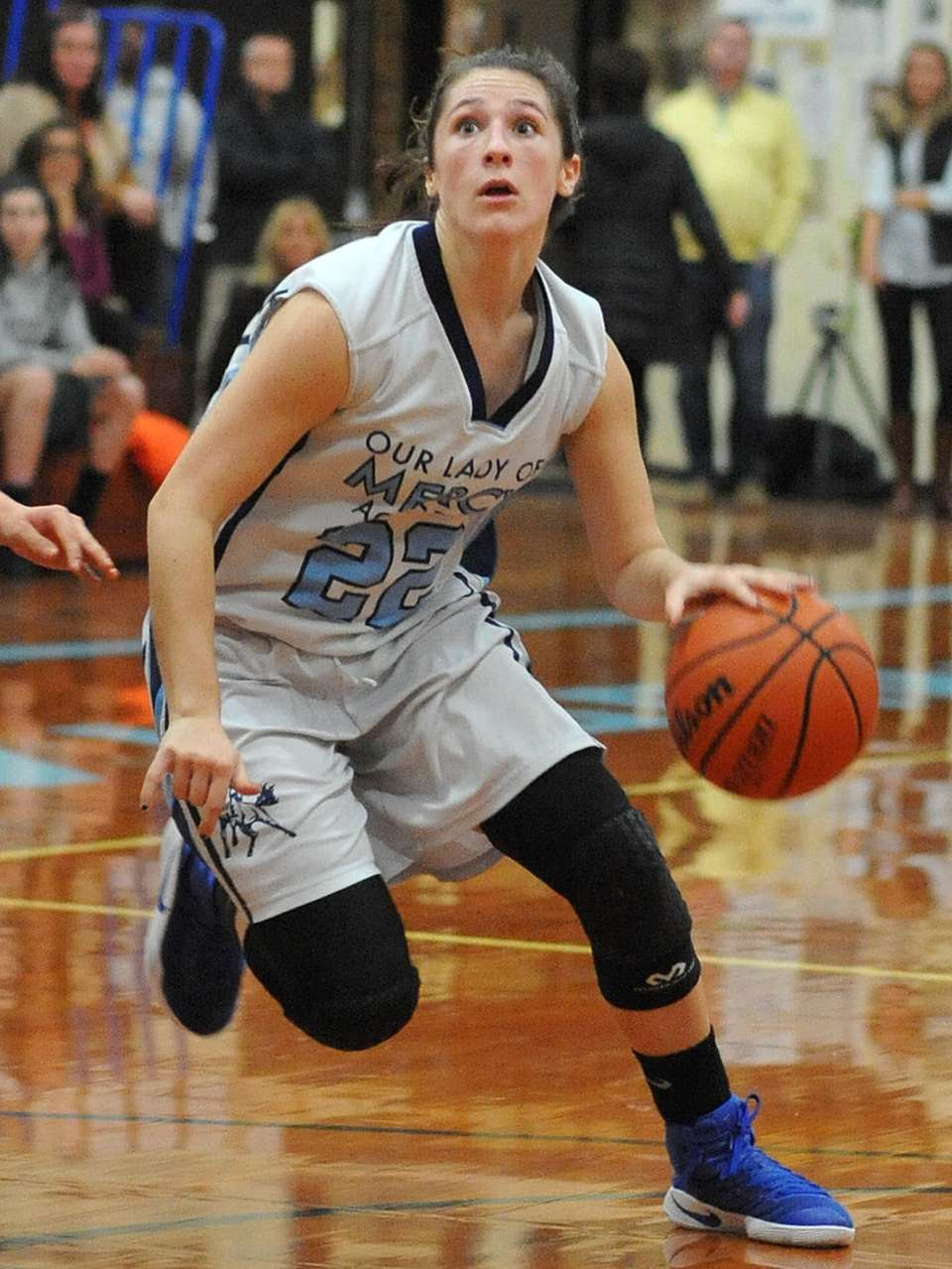 Lauren Hammersley #22 of Our Lady of Mercy