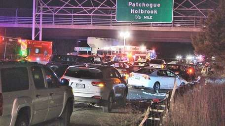 One man was seriously injured late Friday, Jan.