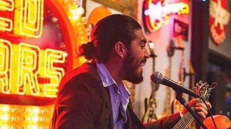 Guitarist Anthony Pravata of Jon & Anthony's Acoustic