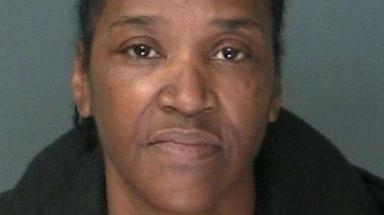 Renee McKinney, 53, of Mastic was arrested Saturday,