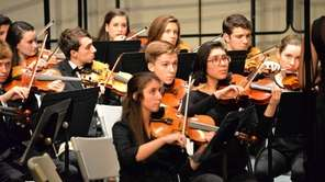 Southampton High school students perform with the Suffolk