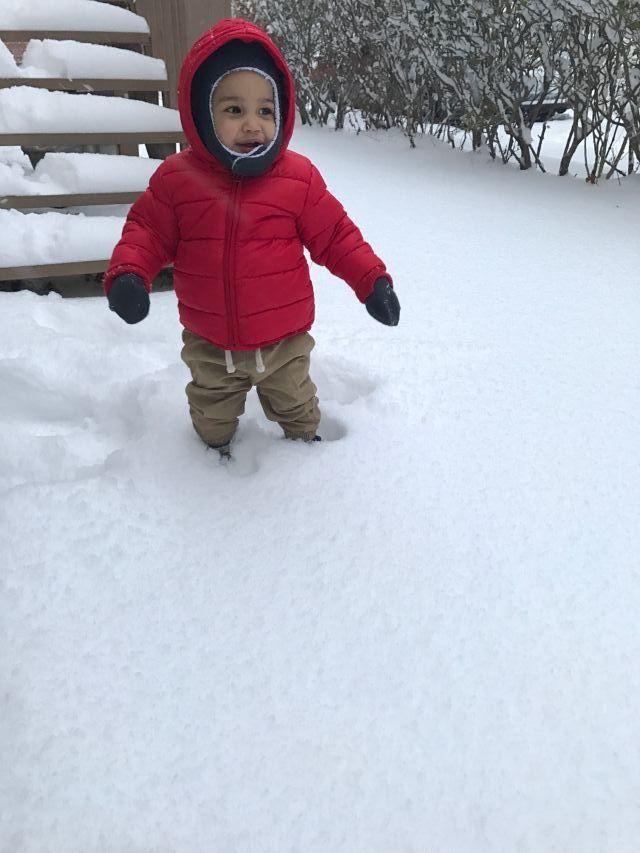 Baby Damian vs Snow (Spoiler Alert, Snow won)