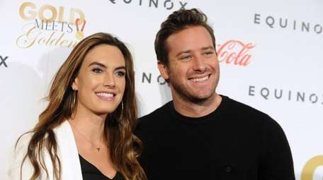 Actors Elizabeth Chambers and Armie Hammer have been