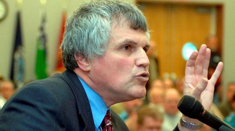 Paul Sabatino, a former chief deputy Suffolk County