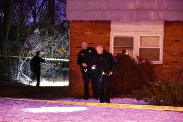 Police investigate after a man was shot at