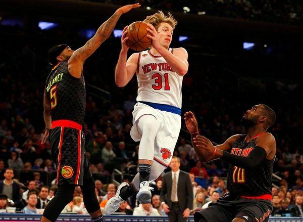 Ron Baker #31 of the New York Knicks