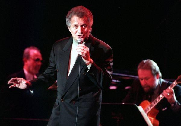 Jazz singer Buddy Greco performs at Orange Coast