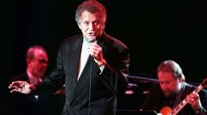 Jazz singer Buddy Greco performs at Orange Coast