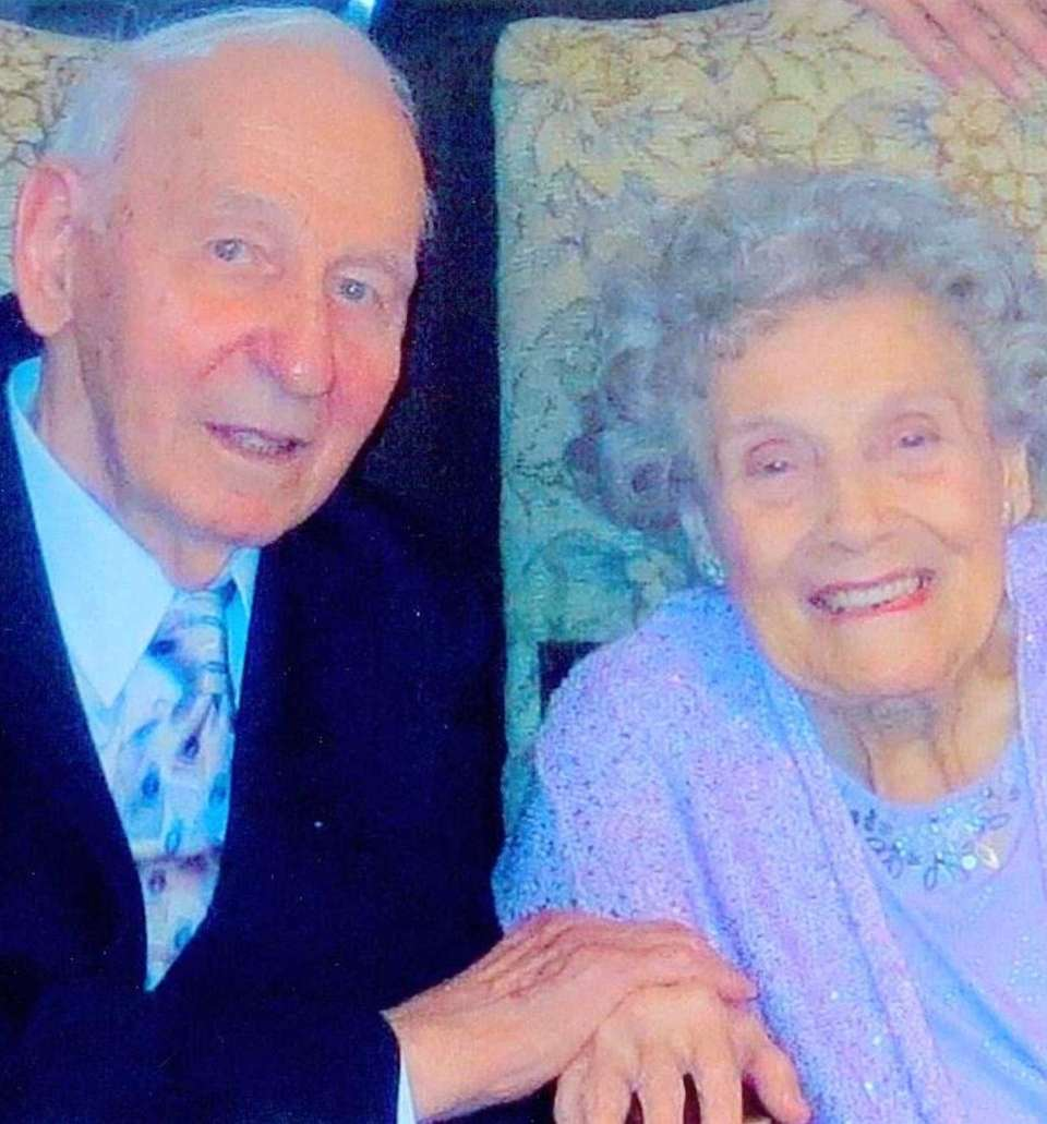 Joseph and Margaret Hegmann, of Wantagh, created their