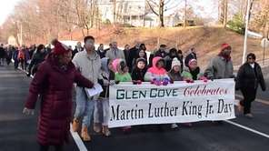 Glen Cove celebrated Martin Luther King Jr. Day