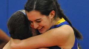 In the game's final seconds, Kellenberg's Clare Calabro