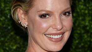 Actress Katherine Heigl arrives at an event on