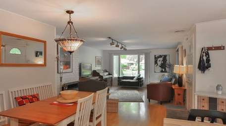 This Glen Cove ranch has three bedrooms and