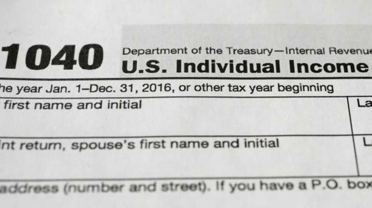 The Internal Revenue Service says to expect a