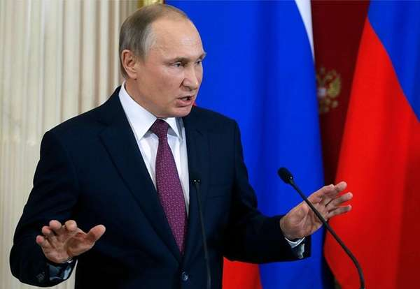 Vladimir Putin defended Donald Trump against an unverified