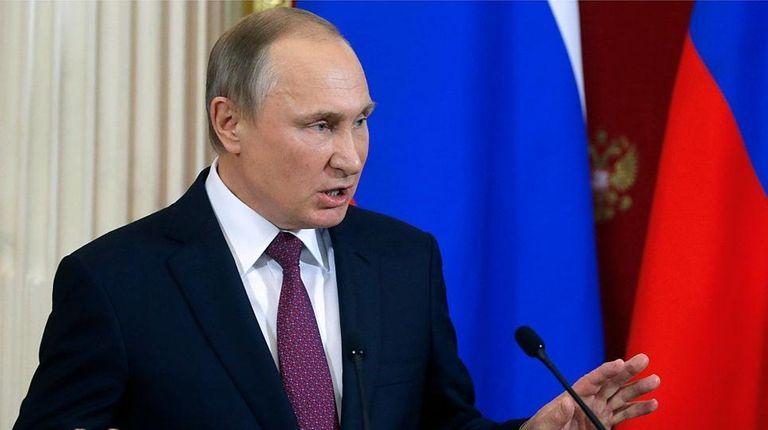 Vladimir Putin defended Donald Trump against an unverified
