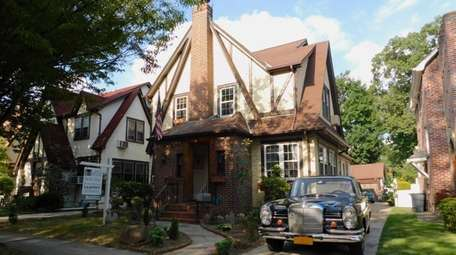 This Jamaica Estates Tudor, Donald Trump's boyhood home,