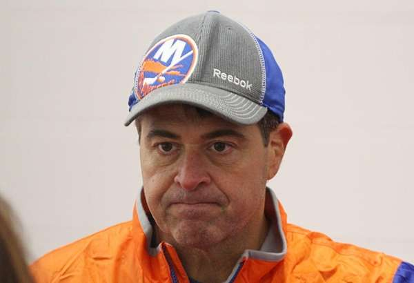 Capuano ousted as Islanders Coach