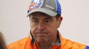 New York Islanders head coach Jack Capuano speaks