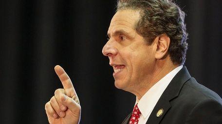 Gov. Andrew M. Cuomo's 2017 proposed budget seeks