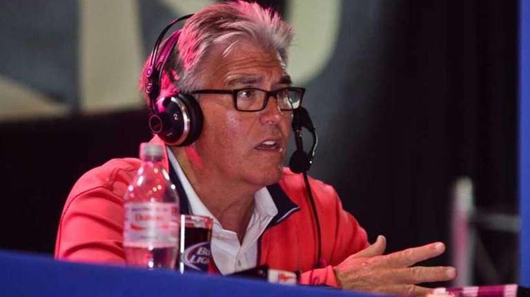 WFAN hostMike Francesa hosts his Football Sunday radio