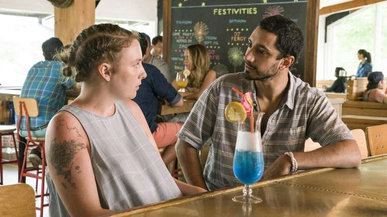 Riz Ahmed joins Lena Dunham in the series