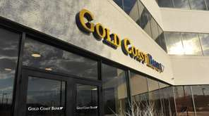 Islandia-based Gold Coast Bank said its net income