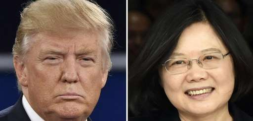 Donald Trump's phone conversation with Taiwan President