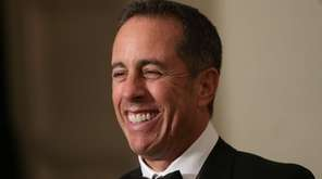 Jerry Seinfeld arrives at a state dinner on