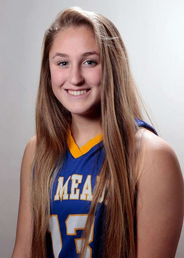 East Meadow'sEmily Shurina poses for a photofor the