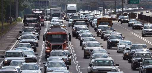 About 450,000 cars registered to addresses on Long